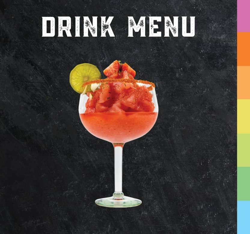 Have a sip of our delicious drink menu