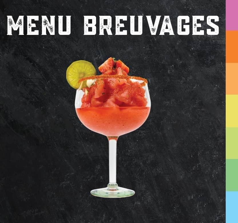 Venez prendre un verre de notre nouveau menu breuvage