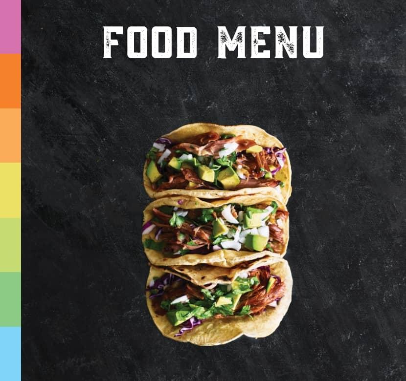 Come taste our delicious food menu
