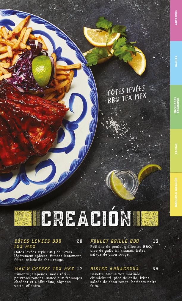 menu creacion